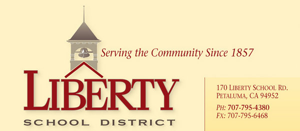 Liberty School District Banner